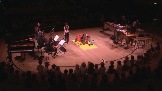 Les Enfantines : Pop-up Symphonie, conté par Marina Cédro. Enregistré le 13 octobre à la Maison de la Radio.