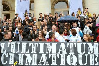 Manifestation en 2009 à Paris pour le climat (illustration)