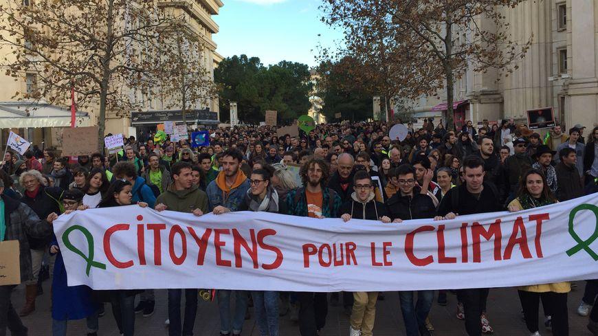 Plus de 4.000 personnes ont marché à Montpellier pour le climat