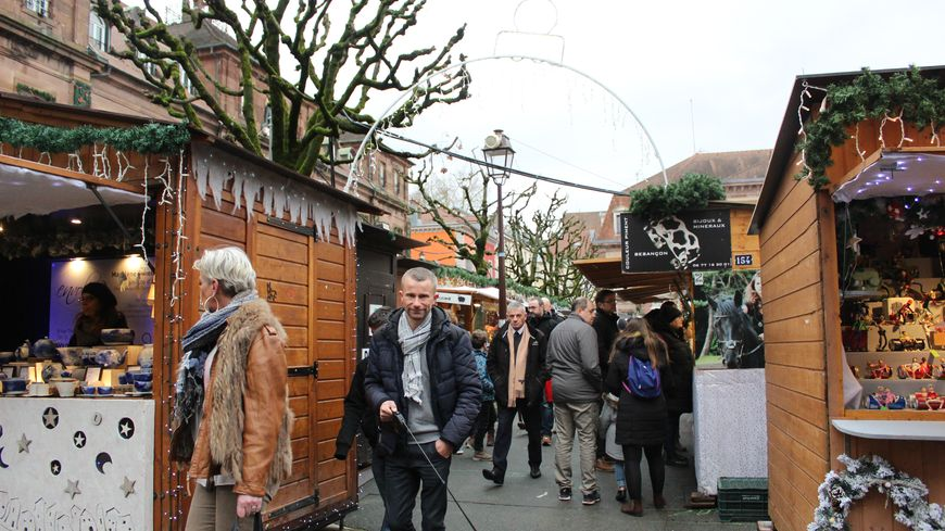 Les mobilisations peuvent décourager certains visiteurs du marché de Noël de Montbéliard a faire la route