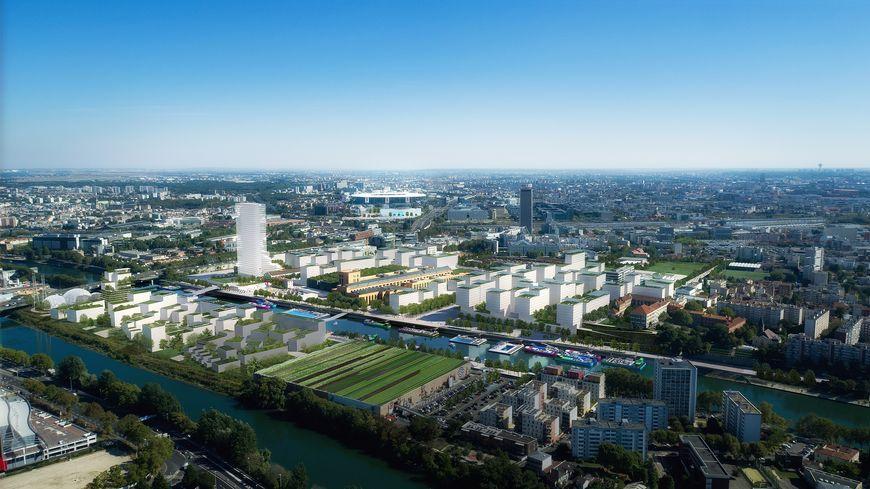 Le futur village olympique et paralympique de Saint-Denis, Saint-Ouen et l'Île-Saint-Denis