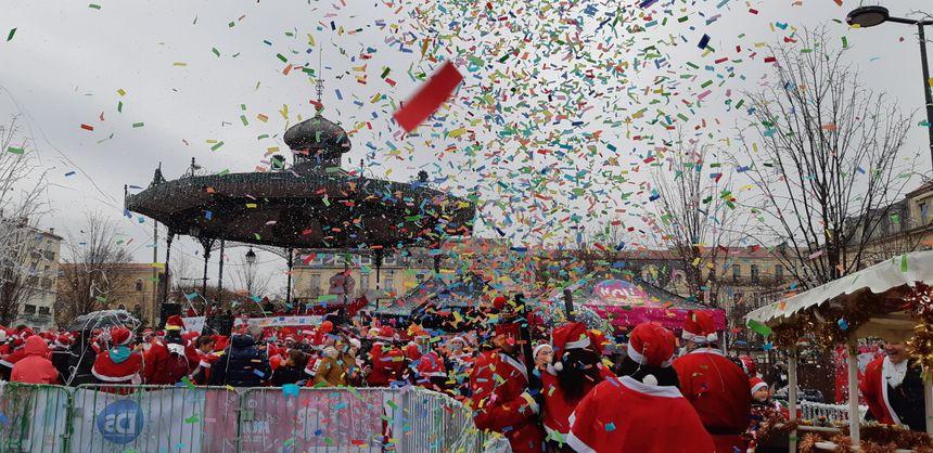 Christmas Run à Sète.