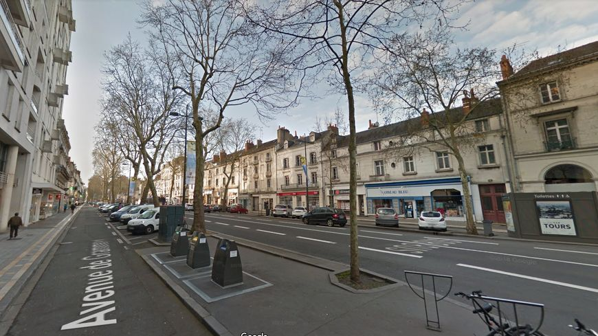 Des travaux de rénovation doivent avoir lieu avenue de Grammont, à Tours, de 2019 à 2021