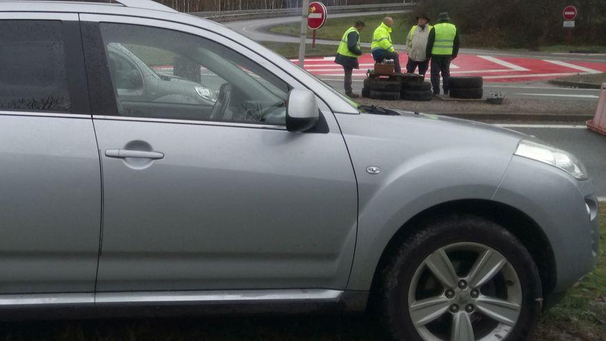 Un automobiliste avait blessé un gilet jaune à Limoges le 17 novembre dernier (photo d'illustration).