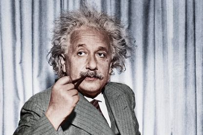 Albert Einstein, physicien (1879-1955)