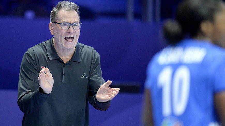 Olivier Krumbholz, le sélectionneur de l'équipe de France de handball féminin.