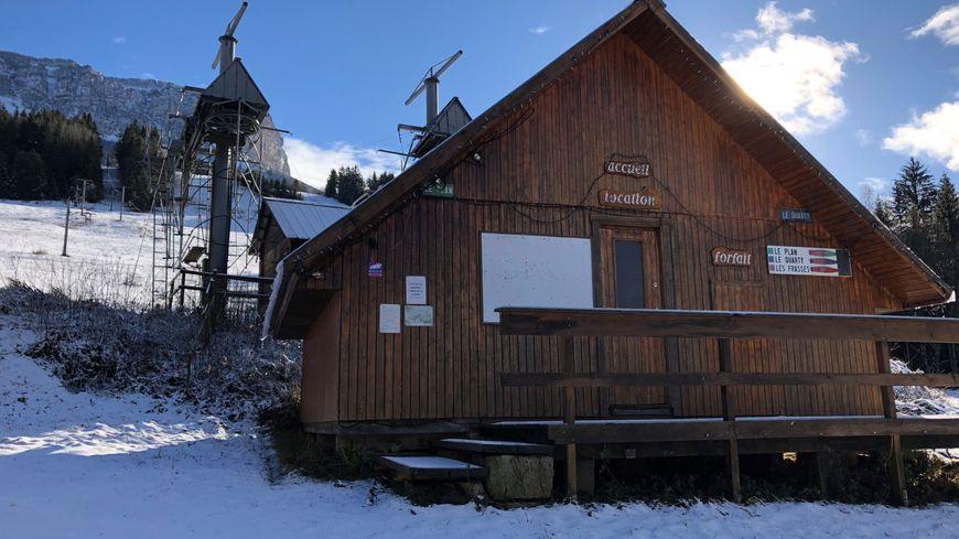 Pour l'instant... pas de ski au Granier