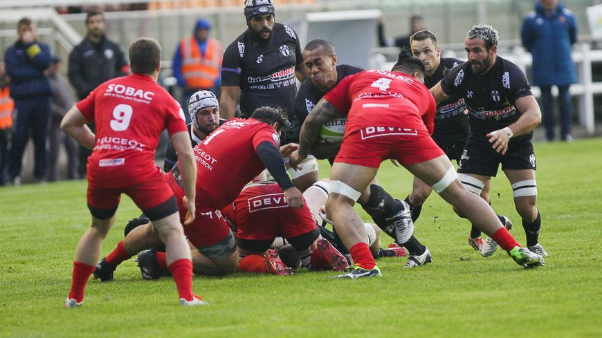 Match de rugby Bergerac-Rodez. (photo d'illustration)