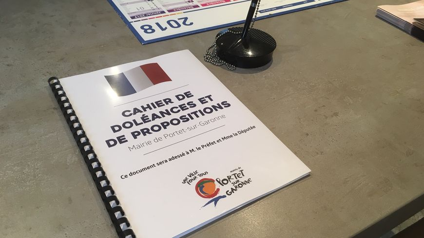 À Portet-sur-Garonne, une seule personne est venue inscrire ses doléances.