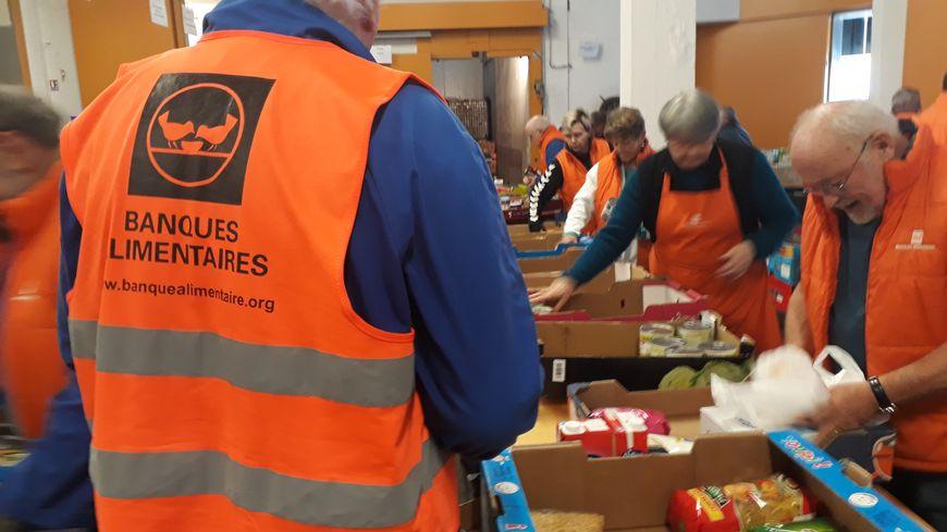 Sur l'agglo yonnaise, les dons de nourriture sont en hausse de 20% cette année