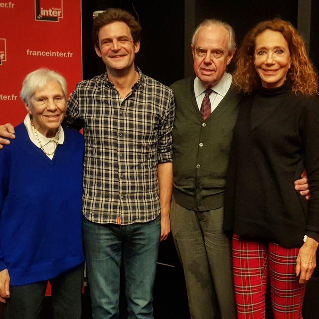 Jacqueline Duhème, Olivier Fredj, Frédéric Mitterrand et Marisa Berenson / Dec 2018