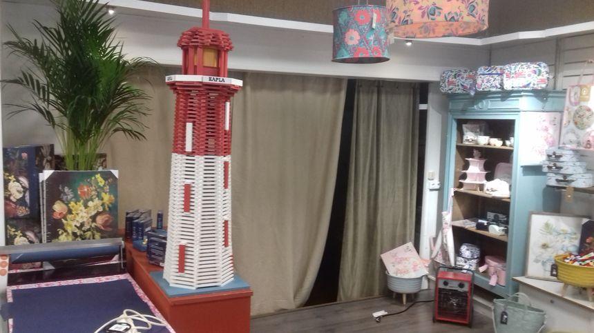 Le phare en Kapla à Barbezieux