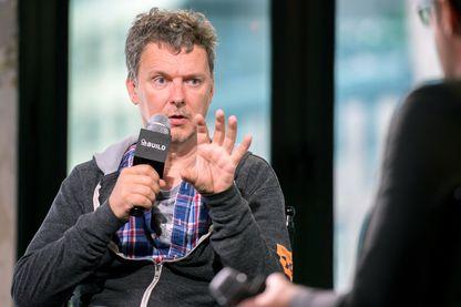 Michel Gondry, cinéaste et réalisateur français, interviewé à New York le 30 juin 2016