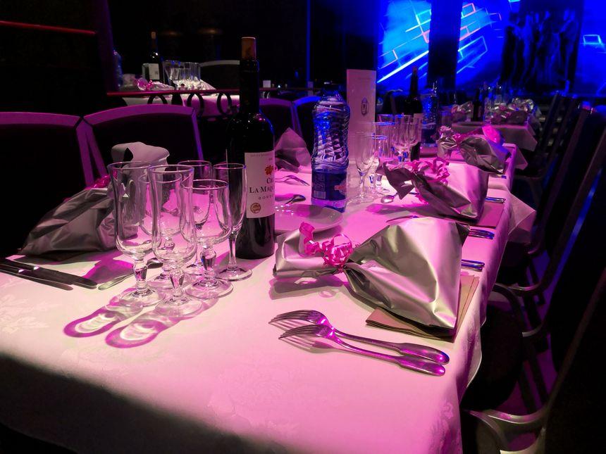 Les tables sont dressées...