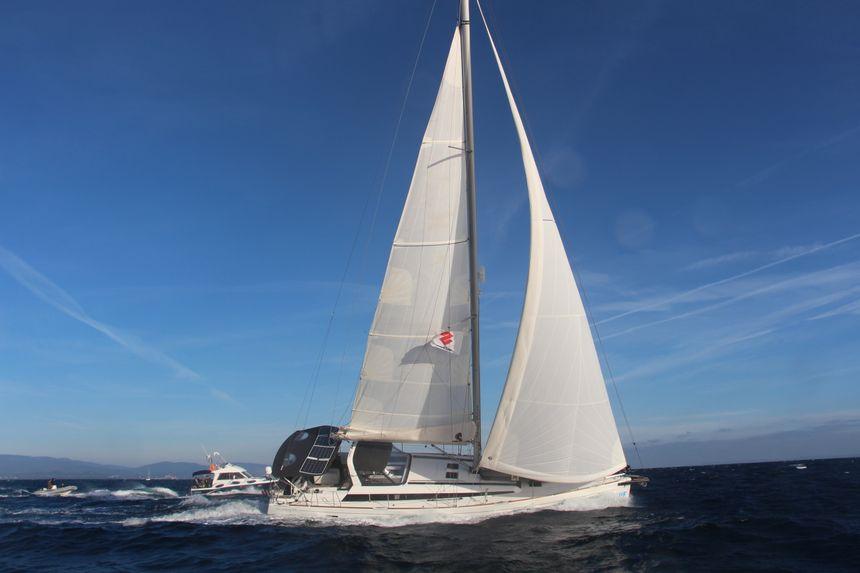 Le voilier, 55 pieds