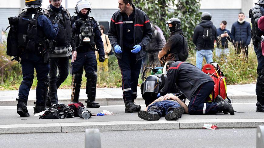 Un blessé lors de la manifestation du 29 décembre à Nantes