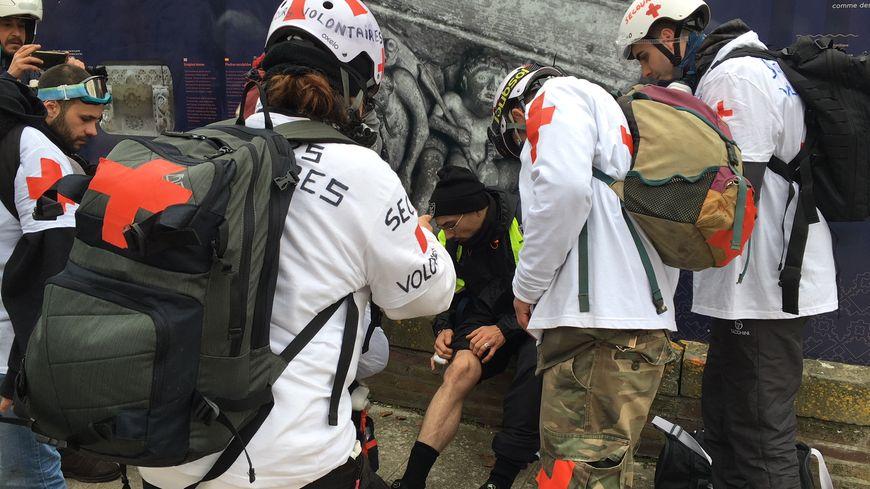Les secouristes volontaires toulousains ont soigné plusieurs manifestants samedi 29 décembre lors de l'acte VII des gilets jaunes (photo d'illustration)