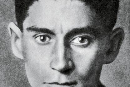 Portrait de l'écrivain, Franz Kafka en 1923/1924.