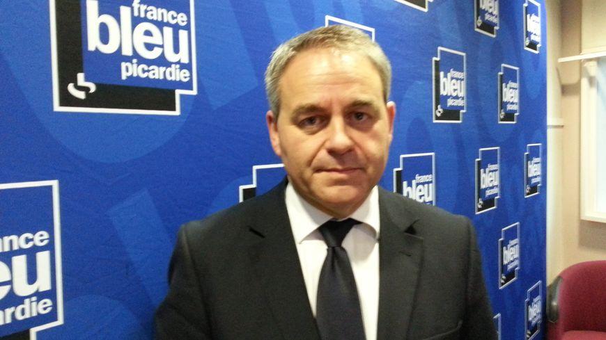 Xavier Bertrand, le président de la région des Hauts de France