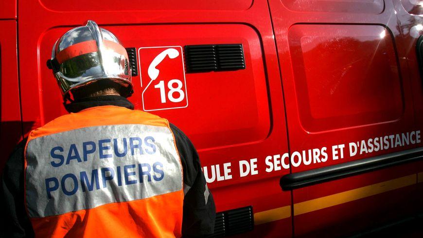 Pompiers en intervention (photo d'illustration).
