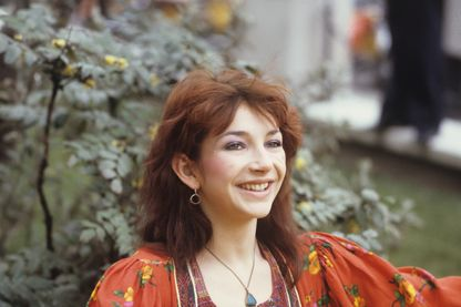 Kate Bush à Londres, en Angleterre, en avril 1979.