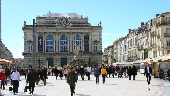 L'Opéra Comédie, l'une des deux salles gérées par la structure Opéra Orchestre national de Montpellier