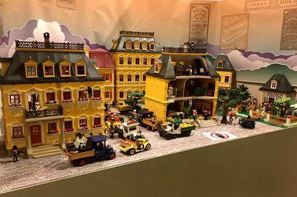 """L'un des """"scènes historiques"""" de l'exposition l'Histoire en Playmobil à Versailles"""