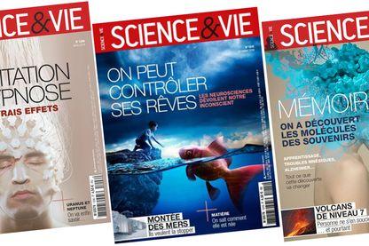 """Quelques couvertures du Magazine """"Science et Vie"""""""