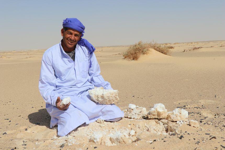 Egypte givre de sel