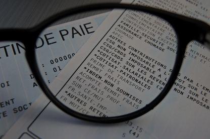 Bulletin de salaire français
