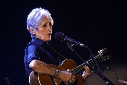 La chanteuse militante Joan Baez