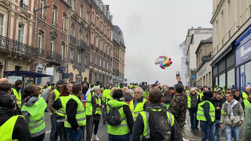 Environ 1000 personnes ont manifesté samedi à Rouen