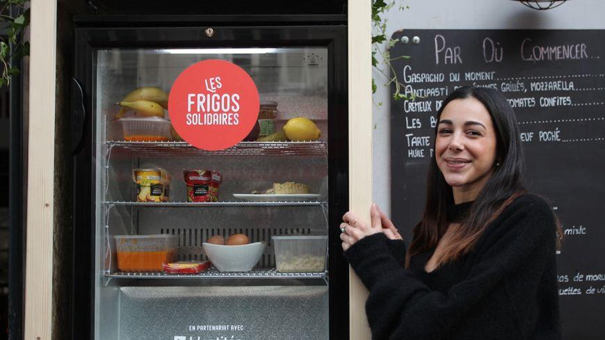 DOUNIA, CRÉATRICE DE L'ASSOCIATION LES FRIGOS SOLIDAIRES PARIS
