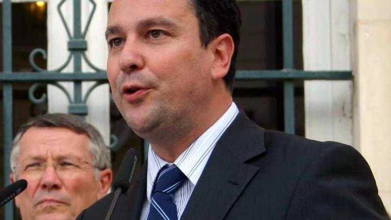 Franck Reynier, le maire de Montélimar