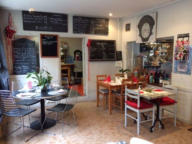 La salle de restaurant d'une trentaine de couverts
