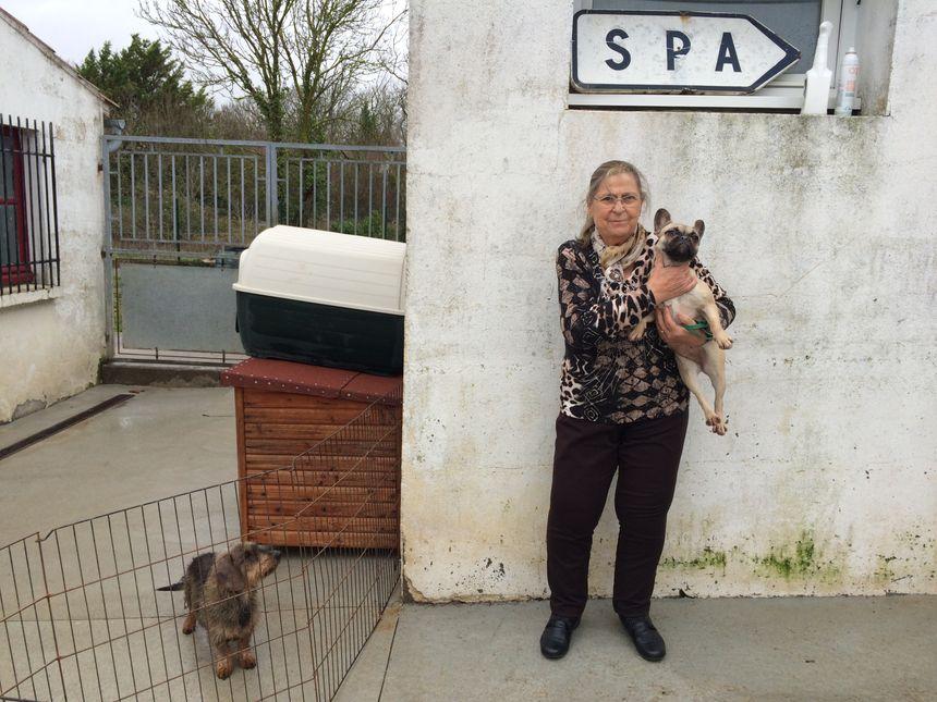 """""""Il faut un désir d'animal"""" prévient Margarett de Sousa, présidente la SPA de Lagord qui déconseille fortement les cadeaux surprise."""
