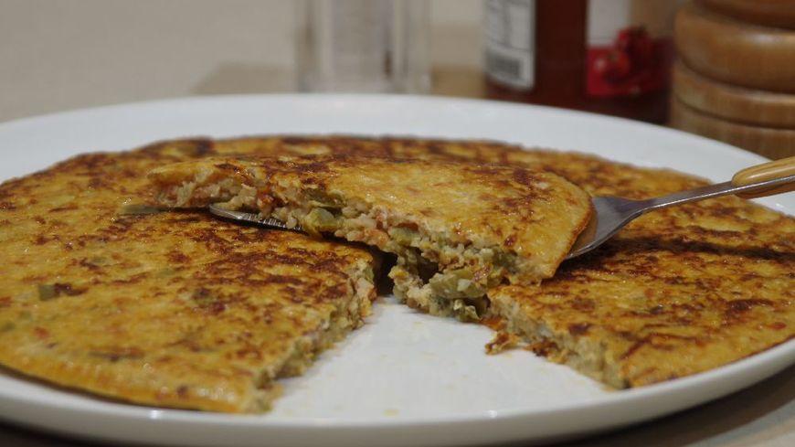Ratatouille en omelette