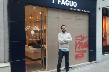 Nicolas Rohr, fondateur de la marque Faguo