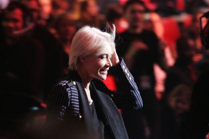 Francoise Hardy, lors de la 20ème cérémonie des Victoires de La Musique, au Zénith de Paris, France.