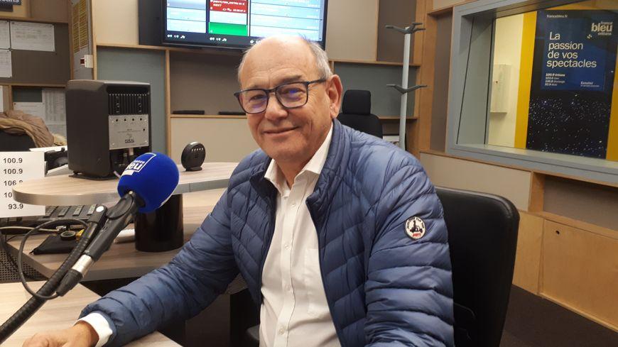 Alain Jumeau, président de la Chambre de commerce et d'industrie du Loiret