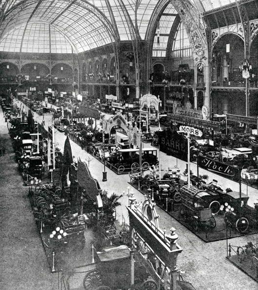 Le salon de l'Auto au Grand Palais