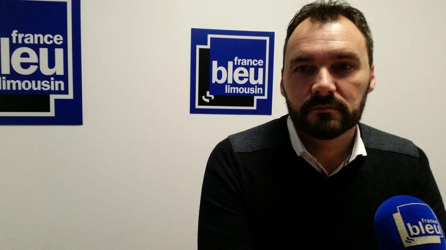 Grégory Hugue était l'invité de France Bleu Limousin ce mercredi matin.