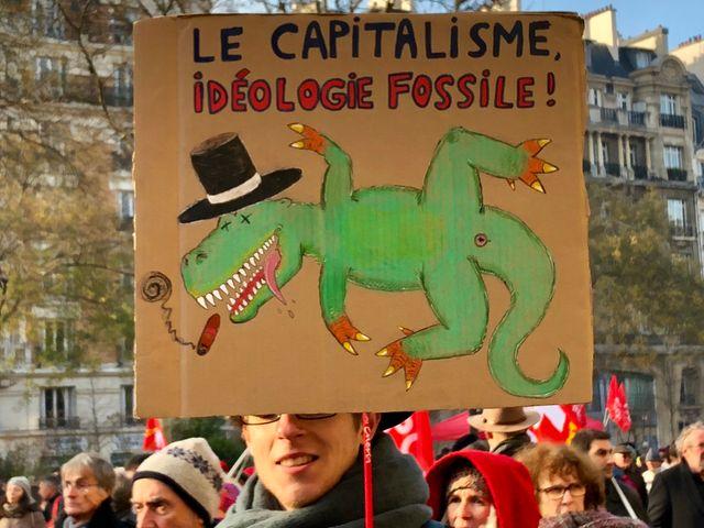 Manifestation du 14 décembre 2018, Paris.