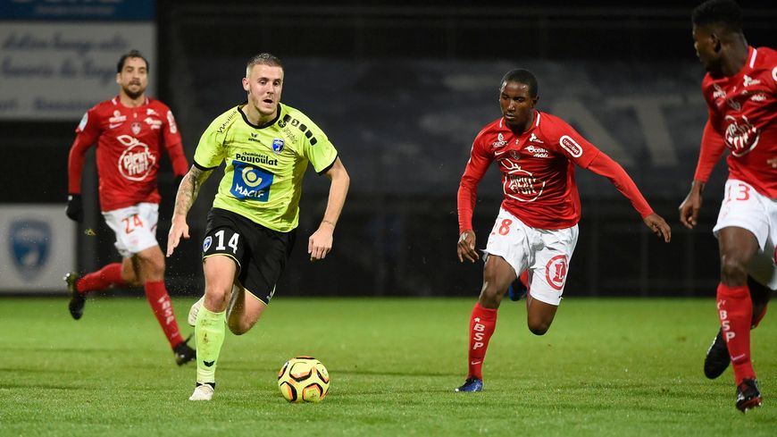 Match nul 1 partout des Chamois niortais face à Brest pour la 19e journée de Ligue 2