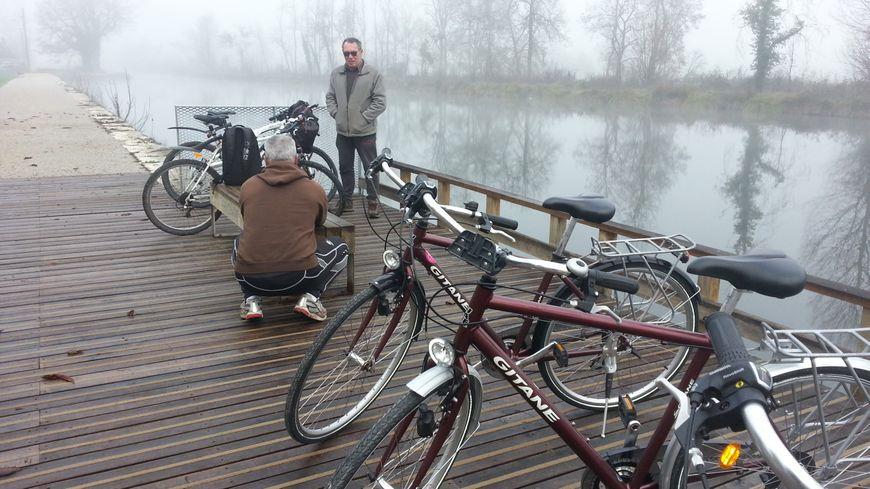 Les aménagements du canal de Berry à Vélo se poursuivent, notamment près de Bourges.