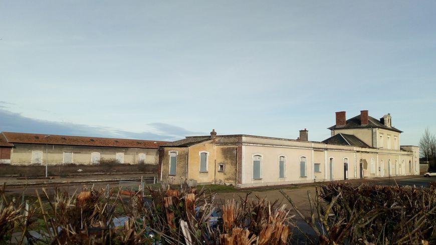 L'ancienne gare de Pithiviers