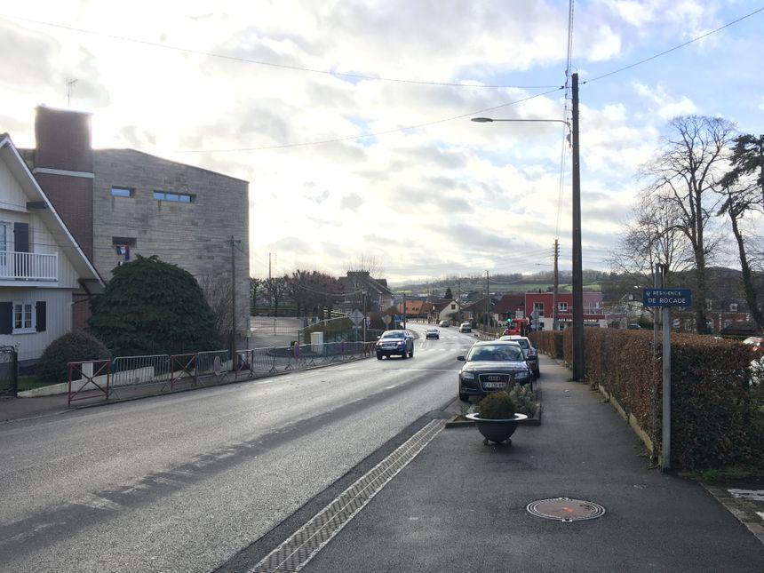 Le but: rendre plus sûre la sortie de l'école sur ce boulevard
