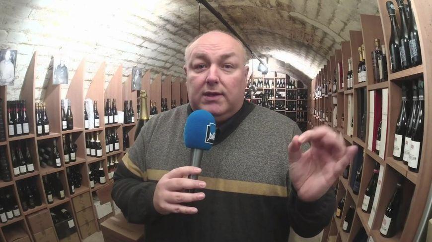 Geoffrey Orban, spécialiste du champagne et œnologue.