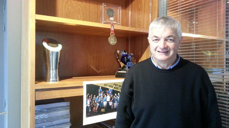 Claude Fournier, viticulteur retraité à Sancerre, participe à son troisième Dakar.