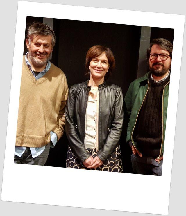 Christophe Honoré, Laurence Rossignol et Johan Faerber, invité du grand Atelier / janv 2019